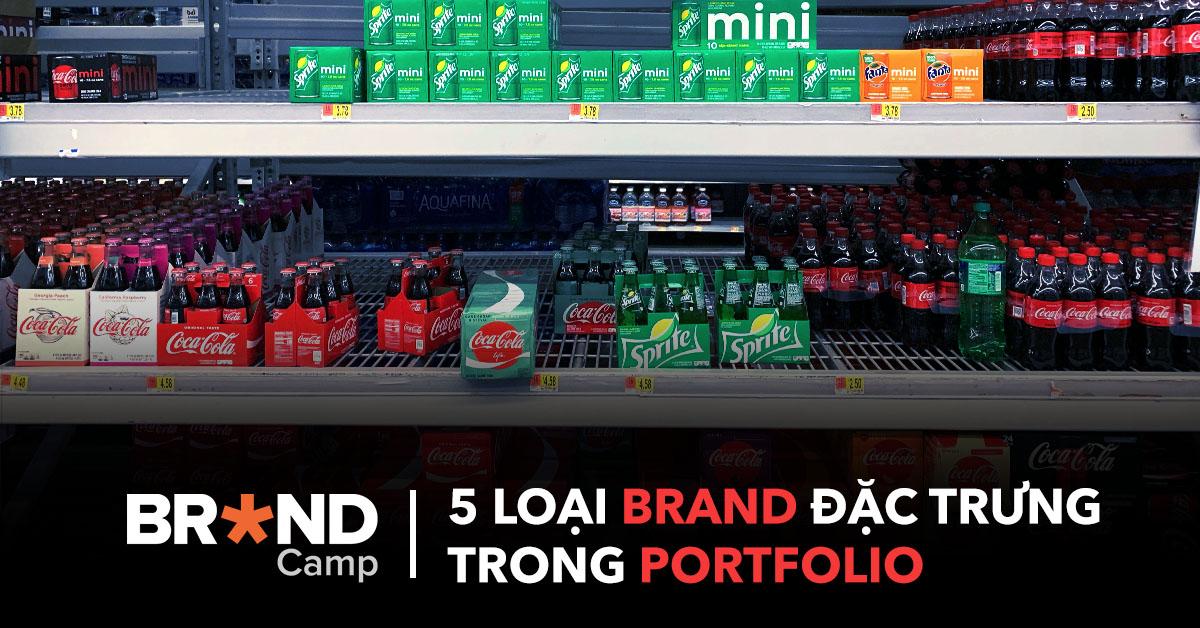 5 loại Brand đặc trưng trong Portfolio