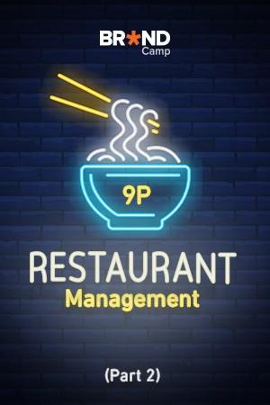 9P of Restaurant Management: 9P trong Quản trị Nhà hàng (Phần 2)