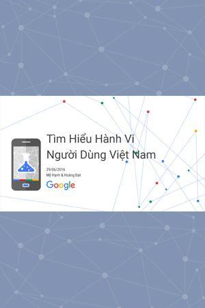 Báo cáo Hành vi Người tiêu dùng Online Việt Nam 2016